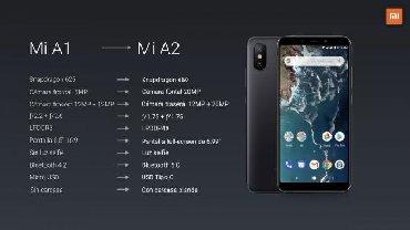 İşlənmiş Xiaomi Mi A2 128 GB qara