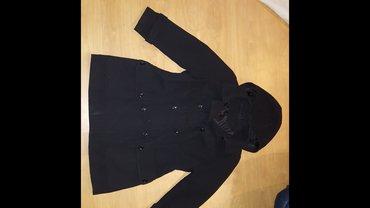 Crni kaput vel. 46-48 - Prokuplje
