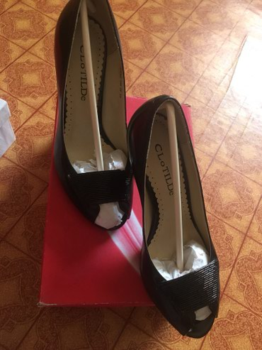 Черные элегантные туфли .Размер 39... Не Б/У. в Бишкек