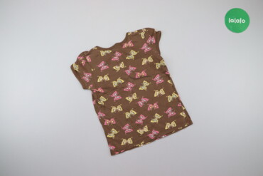 Дитяча футболка з метеликами, вік 5 р.    Довжина: 41 см Ширина плечей