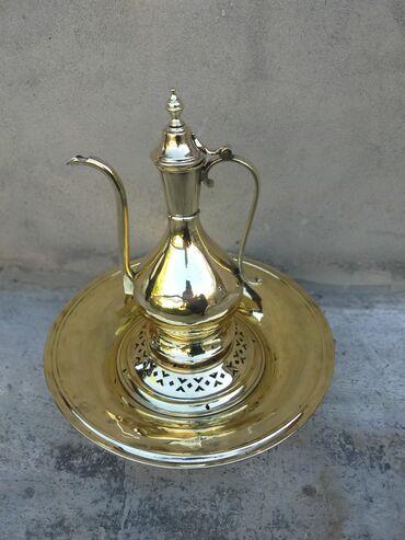 İdman və hobbi - Azərbaycan: Qedim latun Aftafa leyen material latun temizlenmish palirovka