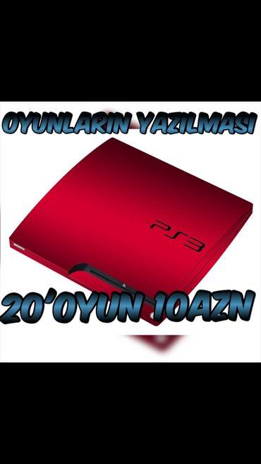 Bakı şəhərində playstation 3 oyunlari yazilir endirimli qiymete... 20 oyun cemi 10 ma