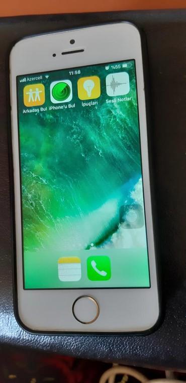 ayfon s5 - Azərbaycan: İşlənmiş iPhone 5s Ağ