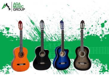 Bakı şəhərində Akustik və Klassik Gitaralar
