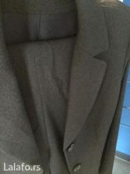 Poslovne-pantalone - Srbija: SniŽenoooo!!!!!!! Ženski trodelni komplet sive boje, mešavina vune i