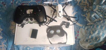 Квадрокоптеры - Кыргызстан: Продаю дрон с камерой Parrot Mambo FPV