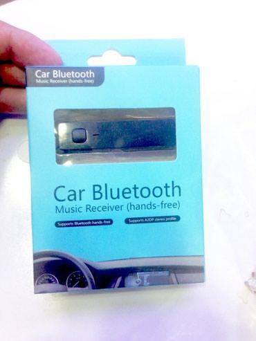 Bakı şəhərində Avtomobil ucun bluetooth aux adapter. keyfiyyetli ses effekti.
