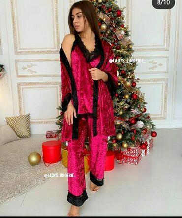 Пижама от Victorias Secret, шикарная велюровая пижама 6в1 от Victorias