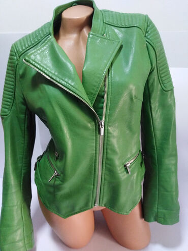 Zara jakna - Srbija: ZARA kožna jaknaizradjena od kvalitetne mekane eko kože,izuzetno