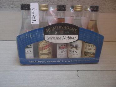 Reklamne flašice mini bottles unučići čokanji fraklići 5.Kao sa slika