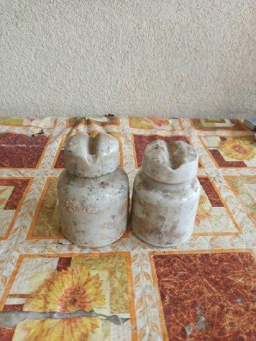 фарфоровые статуэтки в Кыргызстан: Фарфоровые изоляторы  2 шт