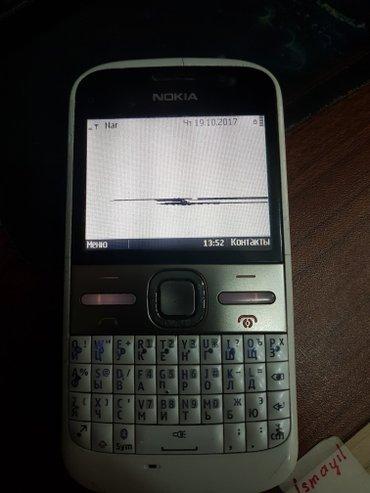 Xırdalan şəhərində Nokia e5,yaxşı vəziyyətdədi,ekranında nazik ləkə var,telefonun