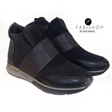 Женская зимняя обувь. Мех натуральный