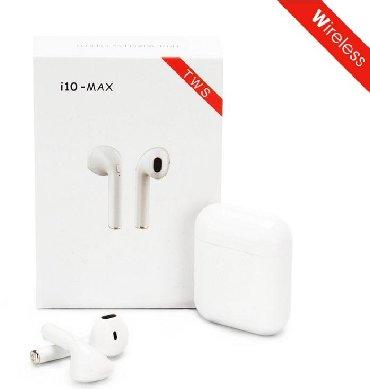 smartfonlar - Azərbaycan: I10 Max Touch TWS simsiz Bluetooth qulaqlıq, bütün smartfonlar üçün