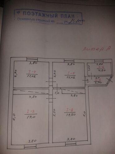 Квартиры - Кара-Суу: Продается квартира: 3 комнаты, 67 кв. м