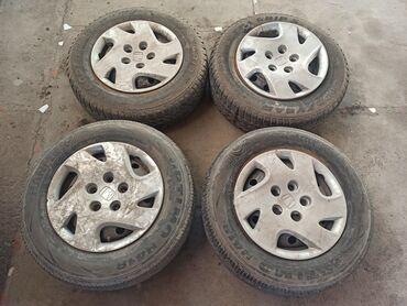диски на 14 бу в Кыргызстан: Продаю на Хонда стрим R 14 диски с резиной родной калпак