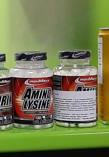 - Azərbaycan: Amino Lysin capsula #ironmaxx #amino Bcaa Protein İdman qidası qidasi