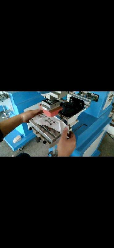 Машина для тампонной печати, тампонная печать, печать размерника