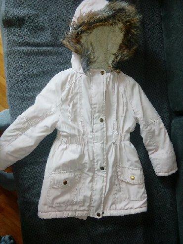 Dečije jakne i kaputi | Zajecar: Zimska jakna za devojcice u dobrom stanju, velicina 122/128 7/8