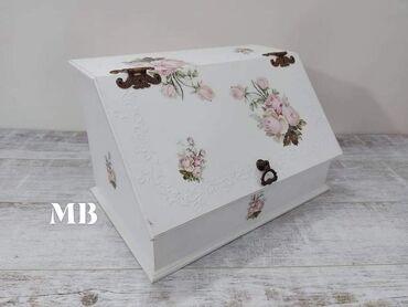 Posuđe | Arandjelovac: Kutija za hleb Dimenzije  42cm x 26cm visina 26cm Cena 2.900