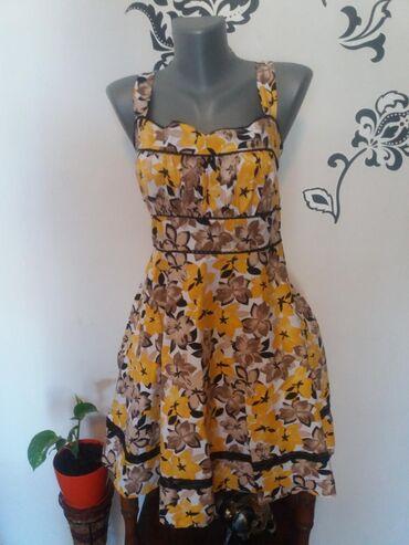 Ženska odeća | Mladenovac: Prelepa letnja haljina. Jednom obučena. Nema oštećenja. Ima elastin