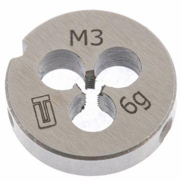 Плашка М3 х 0,5 мм СИБРТЕХ. Плашки всех размеров от М3 до М25. Бишкек