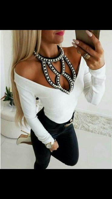 ×NOVO# divna bluzica i u beloj boji s m l xl - Beograd