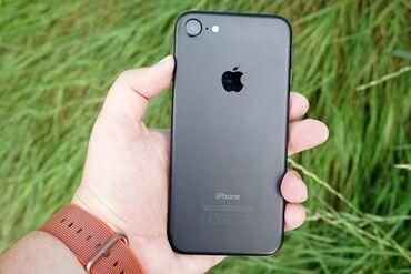 айфон 7 цена in Кыргызстан   APPLE IPHONE: IPhone 7   32 ГБ   Черный Б/У   Гарантия, Кредит, Отпечаток пальца