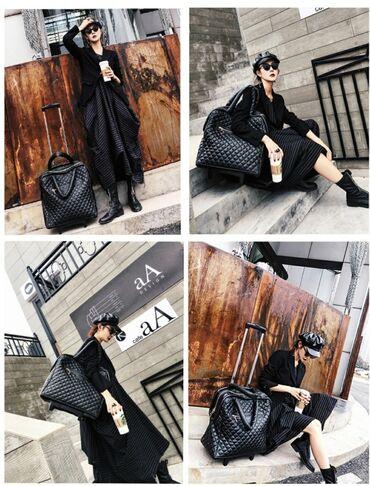 Женский сумка-чемодан, легкая, портативная, дорожная сумка. Маленький
