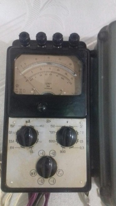 Digər avtomobil elektronikası Azərbaycanda: Multimeter tester 1967 ci ilin