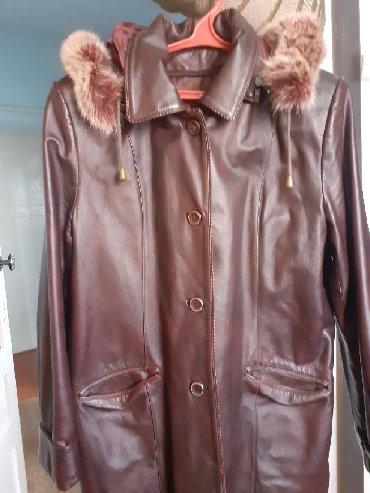 стирающая кожаная куртка в Кыргызстан: Кожаная куртка-пиджак