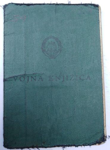 Vojna oprema - Srbija: Vojna knjižica iz perioda JNA,za kolekcionare,šaljem brzom poštom
