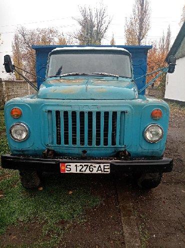 Синий faw - Кыргызстан: Срочно продаю газ 53 бортовой, матор скапримонта находу есть пропан и