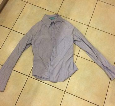 Ριγέ μπλέ λευκό γυναικείο πουκάμισο βαμβακερό . Νο small . Αφοπρετο  σε Υπόλοιπο Αττικής - εικόνες 2