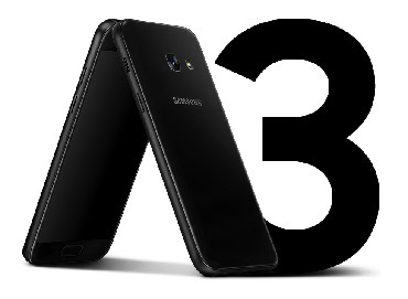 Samsung Galaxy A3 2017 Black Duos в Душанбе
