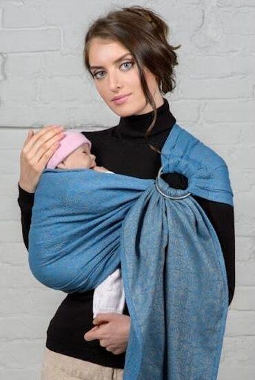 Слинг-шарф с кольцом. Канадский бренд, эксклюзивный пошив в Китае. От
