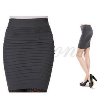 юбка-новая в Азербайджан: Юбка новая стриджевая прямая с мелкими складками короткая Для