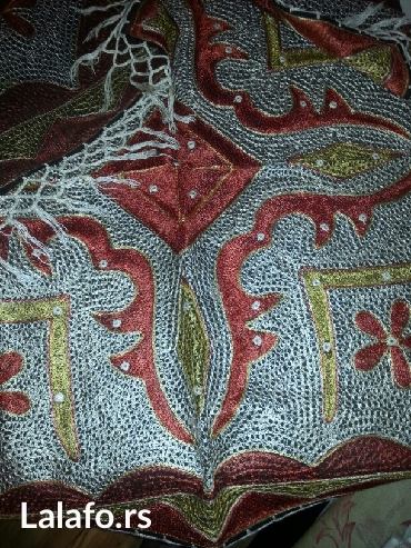 Ostalo za kuću   Crvenka: Stoljnjak sa swarovski kristalima -nov  made in italiji