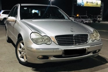 Mercedes-Benz в Кыргызстан: Mercedes-Benz C 240 2.6 л. 2004 | 112000 км
