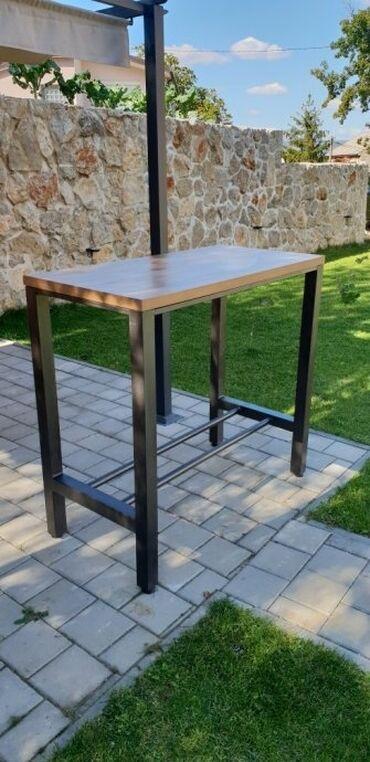 Izrada barskix stolica i stolova industriskom stilu koje karakterišu