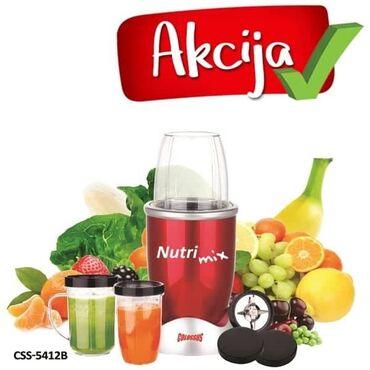 Coca cola - Srbija: NUTRI MIX CSS-5412B COLOSSUSjačina 600W, jedna brzina,brzina 20000