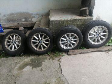 Auto gume - Srbija: GUME SA ALU FELME ZA BMW 205/60/15 GUME SU U EKSTRA STANJU TAKOĐE I FE