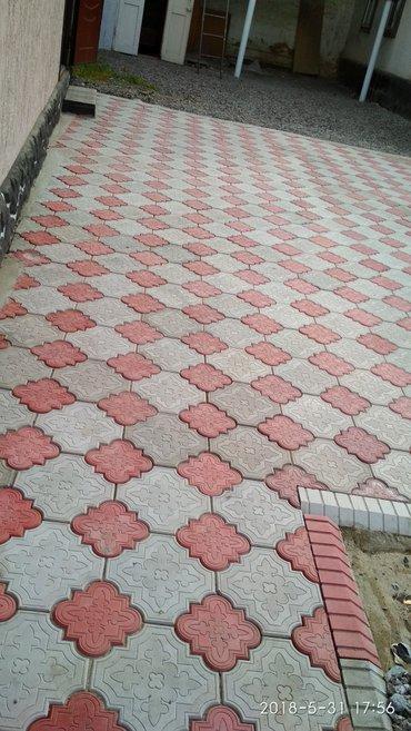 Брусчатка тротуарная плитка арычки в Кара-Балта