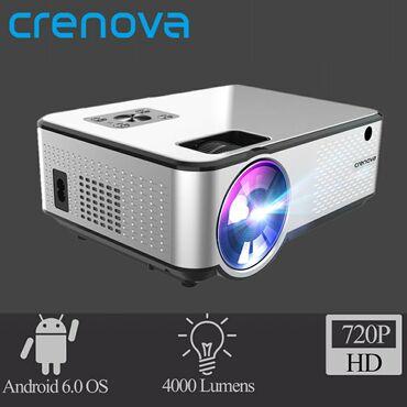 Проектор Crenova C9 на базе андроид. (на заметку, проектор на андроид