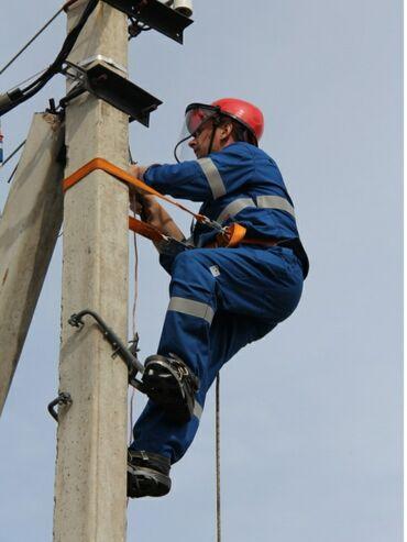 Электрик Бишкек, Бишкек электрик на столб, электрик на опору воздушных