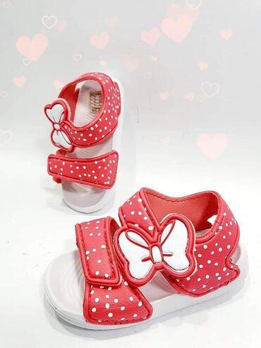 Sandale za devojcice raznih brojeva i modela. Brojevi od 19 do