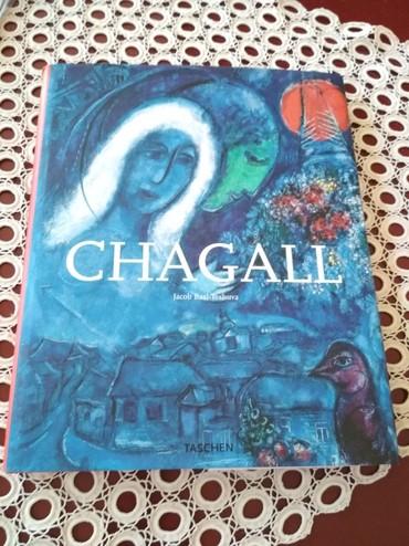 Knjige, časopisi, CD i DVD | Kragujevac: Knjiga Chagall, na engleskom, nekoriscena