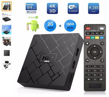 Продам HK1 Mini 2/16GB 4K (Ultra HD) - Android TV Box с в Бишкек