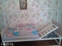 Медицинская кровать в отл состоянии, бу  2 мес, поднимается ручным мех в Бишкек