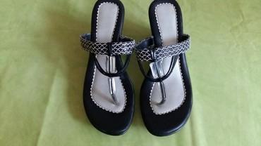 Ženske papuče be. 38.Polovne,ocuvane - Petrovac na Mlavi